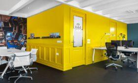 interieurontwerp kantoorgebouw - offshore bedrijf - via andrea | interieur & design